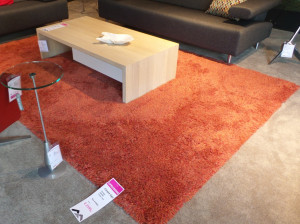 Carpet Sign Sauvage oranje rood karpet Opruiming
