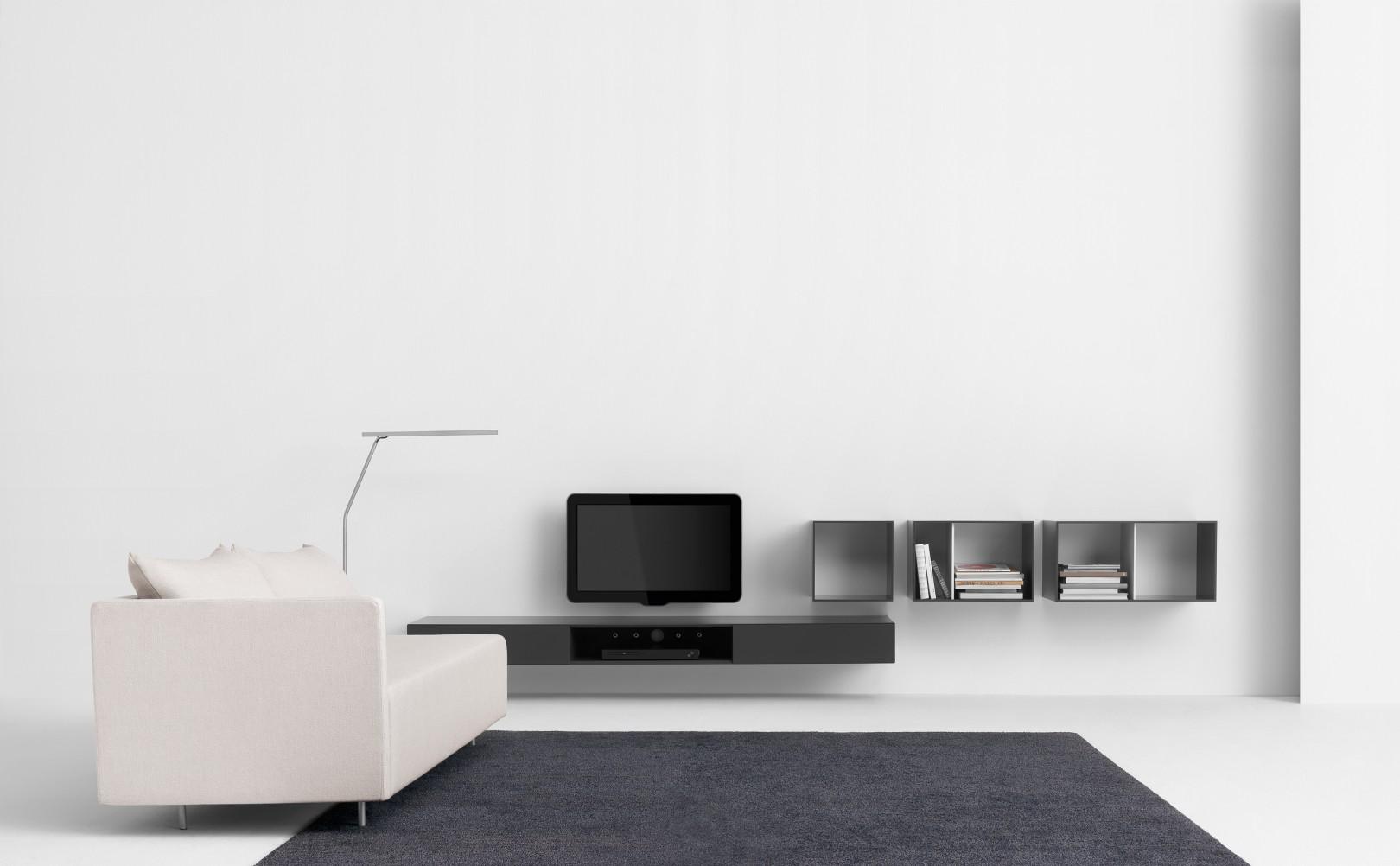 Pastoe vision elements tv kast wiechers wonen for Kast voor tv