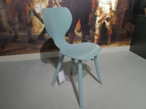 Linteloo Tulipani eetkamerstoel blauw Opruiming