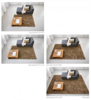 Hoe groot moet mijn karpet worden?