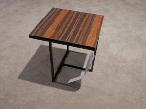 Van Beek Tiga bijzettafel vierkant hout opruiming