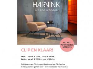 Harvink Clip actie