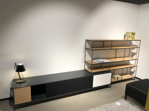 Bert Plantagie Luna tv element met etagere opruiming