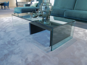 Van Beek Collection S6 salontafel glas Opruiming