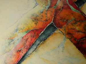 Opruiming: Carla Raadsveld schilderij abstract