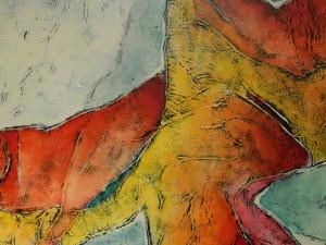 Opruiming: Carla Raadsveld schilderij modern