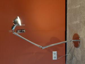 Opruiming: Lumina Naomi tafellamp chroom