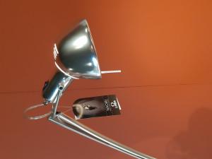 Opruiming: Lumina Naomi tafellamp aluminium