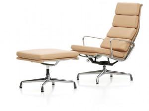 Vitra Aluminium Chair EA 222 Soft Pad